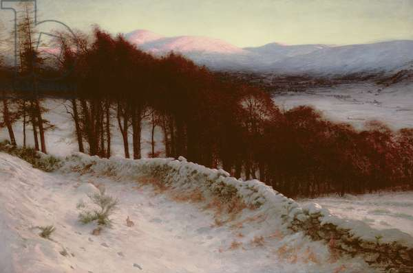 And All the Air a Solemn Silence Holds, c.1900 (oil on canvas)