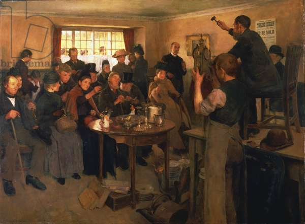 By Order of the Court, 1881 (oil on canvas)