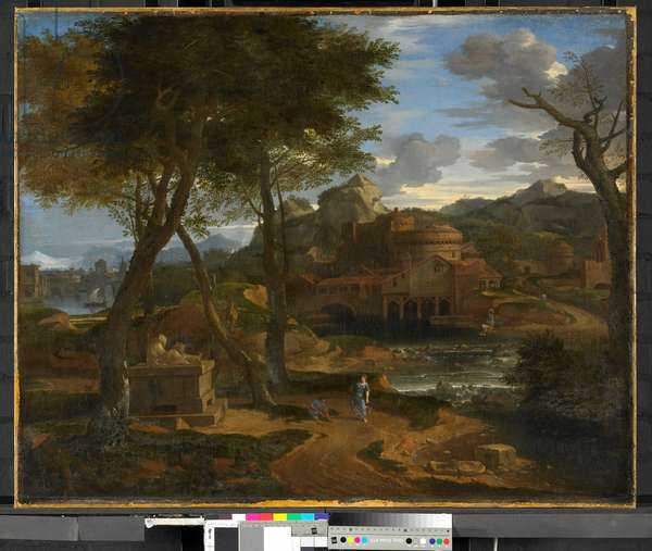Classical Landscape, 1600-65 (oil on canvas)
