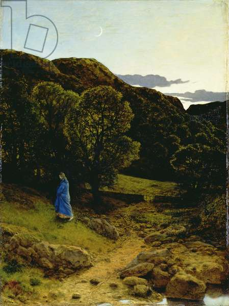 The Garden of Gethsemane, c.1860 (oil on canvas)