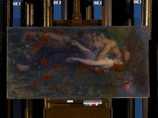 An Idyll, 1891 (oil on canvas)