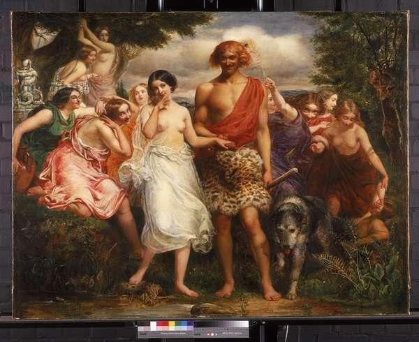 Cymon and Iphigenia, 1847-48 (oil on canvas)