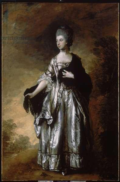 Isabella, Viscountess Molyneaux, c.1769 (oil on canvas)