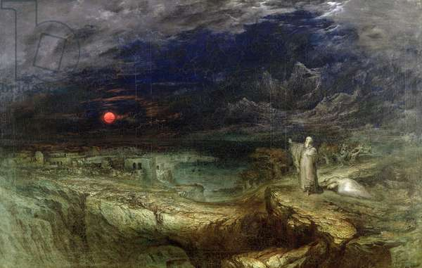 The Last Man, 1849 (oil on canvas)