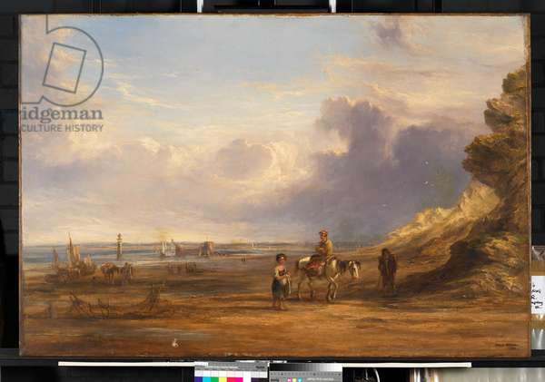 New Brighton in Shore in 1835, 1835 (oil on canvas)