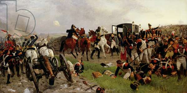 On the Evening of the Battle of Waterloo, 1879 (oil on canvas)
