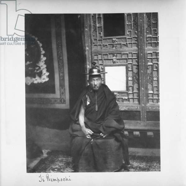 Ji Rimpochi, Tibet, 1903-04 (platinum print)