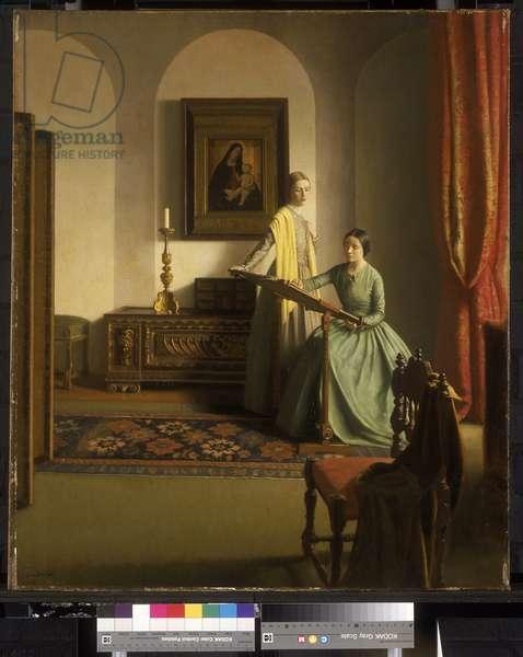The Sampler, 1931-32 (oil on canvas)