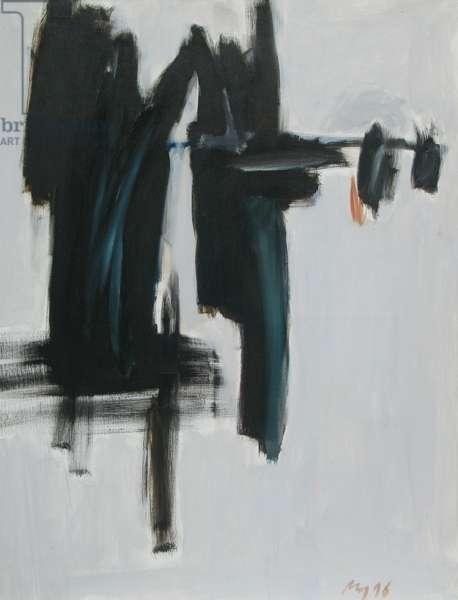 Composition 04, 1996 (oil on canvas)