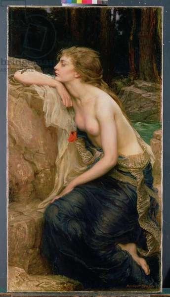 Lamia, c.1909 (oil on canvas)