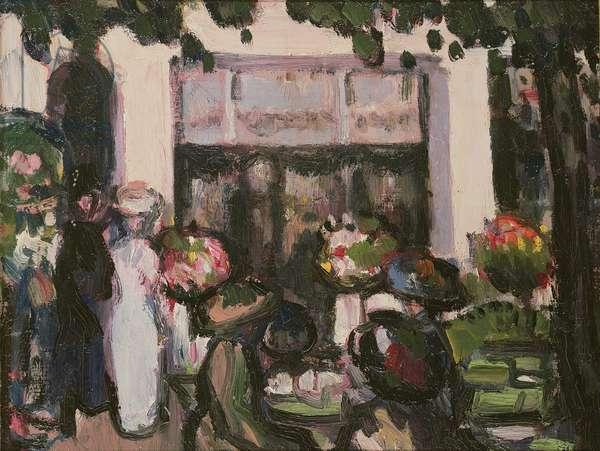Pre Catalan, Paris, 1908 (oil on panel)
