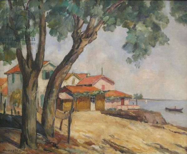 View at Arcachon, 1931 (oil on canvas)