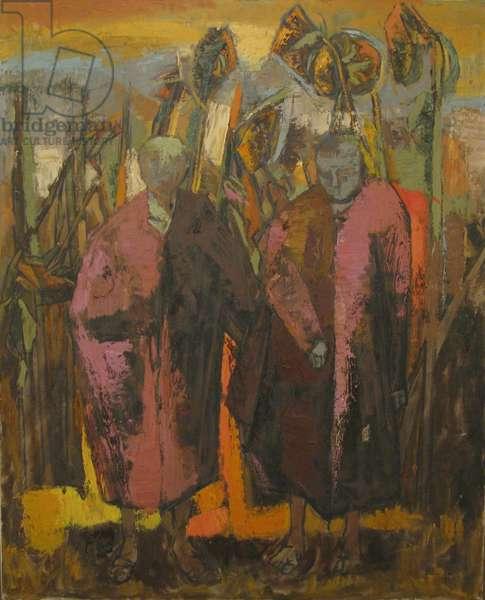 Sunflowers, 1968 (oil on canvas)