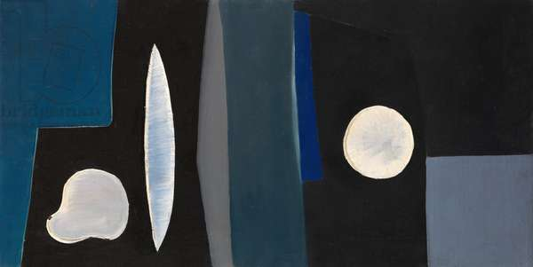 Composition with Organic Forms, 1951 (oil on canvas)