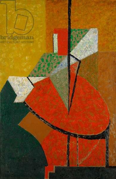 Balancement, 1948 (oil on canvas)