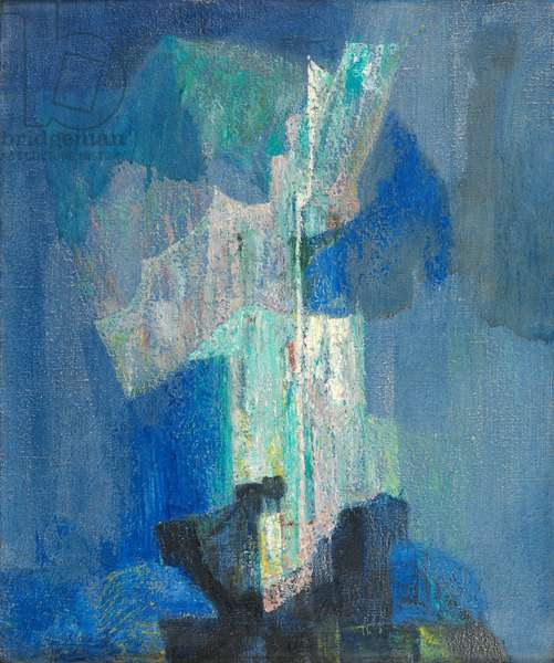 Reflets, 1958 (oil on canvas)