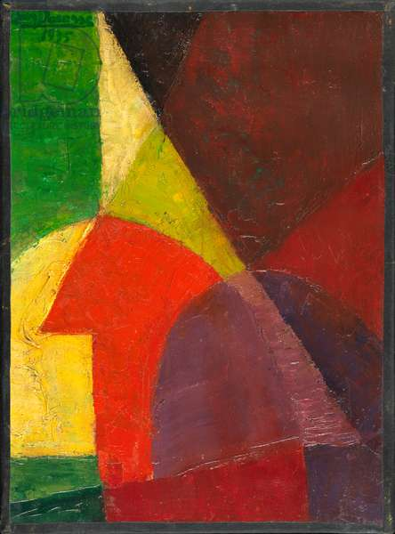 Espace, 1935 (oil on canvas)