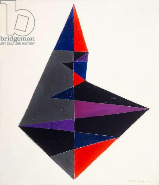 De Diamant, 1955 (oil on canvas)