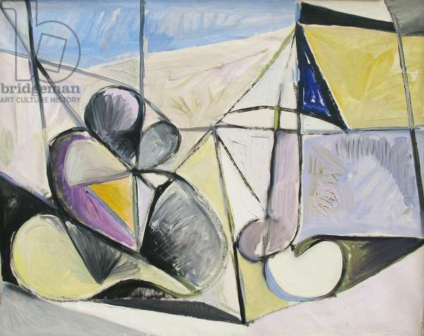 Nude in Landscape, c.1947 (oil on canvas)