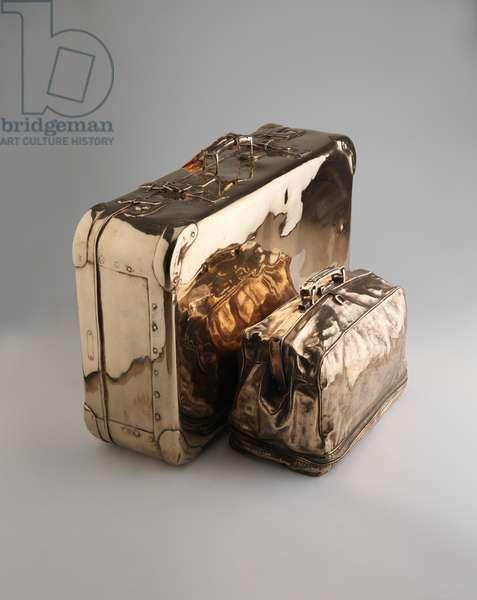 Luggage, 2015 (polished bronze)