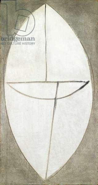 Ellipse, c.1948 (oil on hardboard)