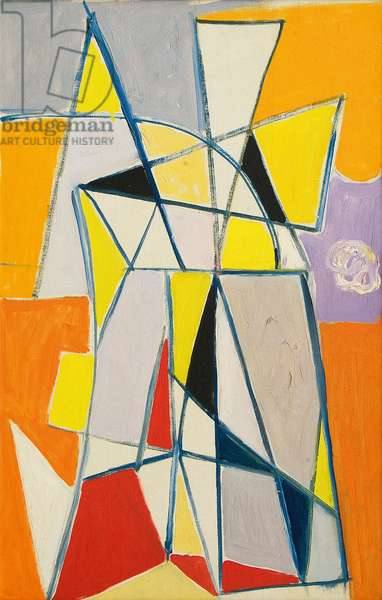 Abstract Composition, c.1949 (oil on canvas)