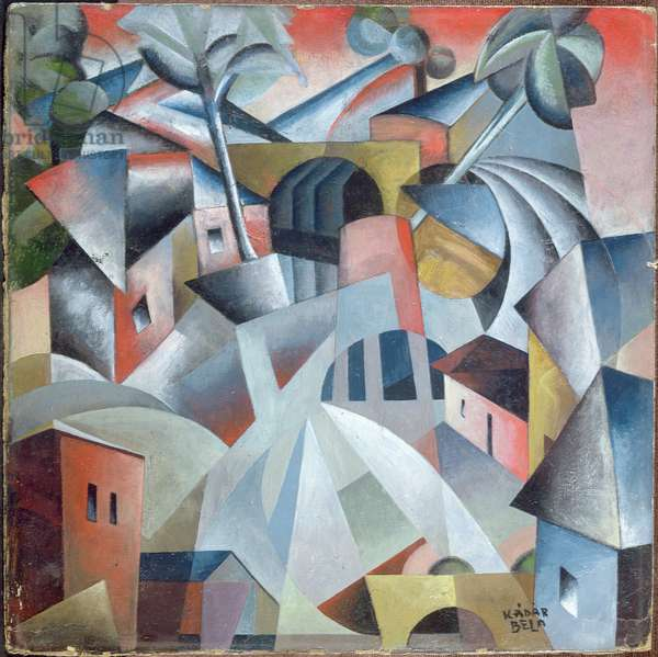Homage to Malevich, c.1922 (oil on board)