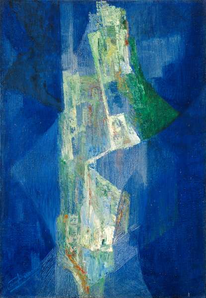 Recherche, 1936 (oil on canvas)