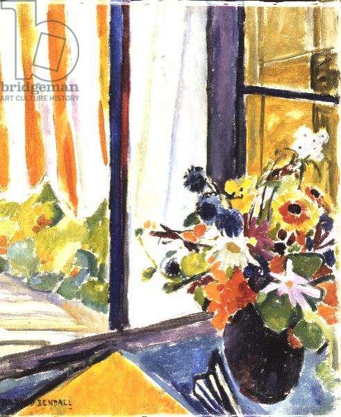 Flowers Before a Window
