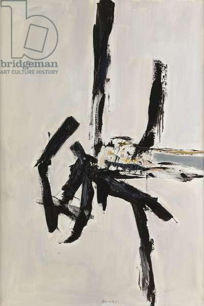 Composition 92 C, 1992 (oil on canvas)
