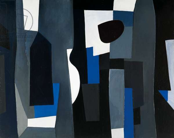 Composition 19.May.1955, 1955 (oil on canvas)