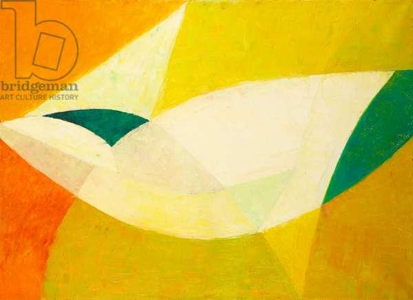 Evasion, 1963 (oil on canvas)