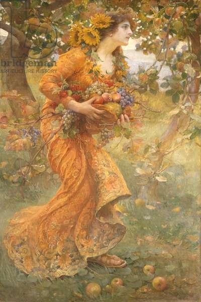 Autumn, 1912 (oil on canvas)