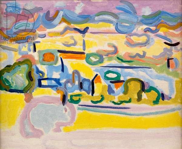 Fauvist Landscape, c.1945 (oil on canvas)