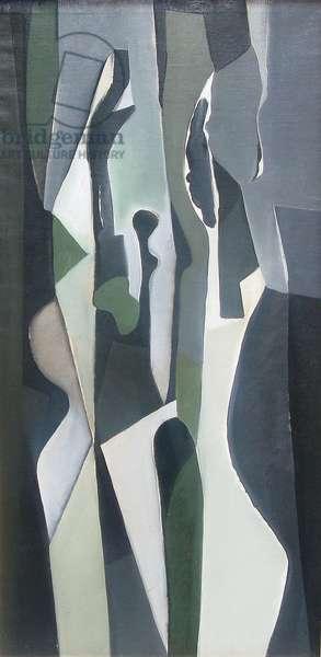 Composition, 1956 (oil on canvas)