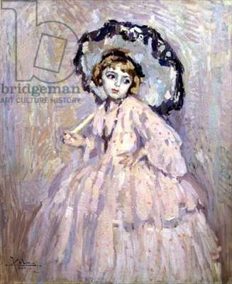 Pink and Blue, 1906 (oil on canvas)