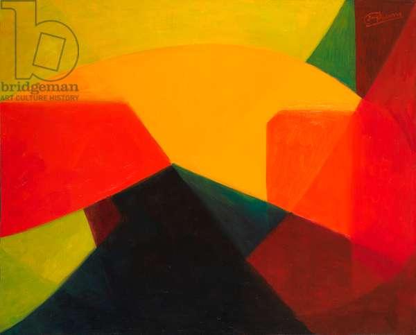 Lumière, 1972 (oil on canvas)