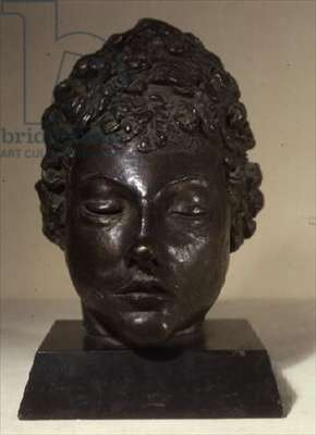 Portrait of a Young Girl (bronze)