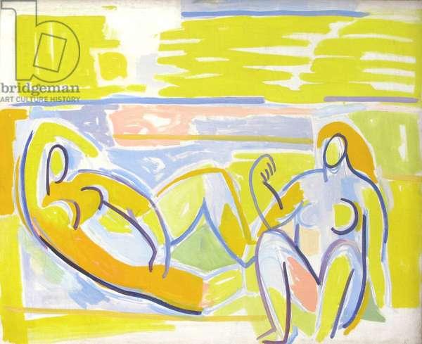 Nudes, c.1947 (oil on canvas)