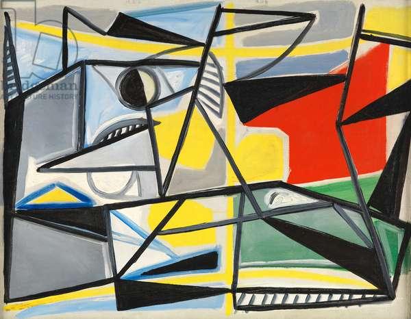 Composition #6, 1948 (oil on canvas)