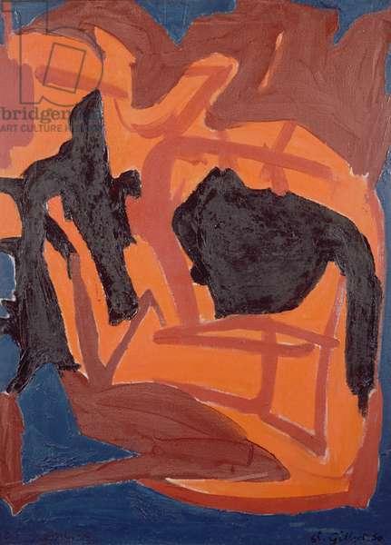 Composition (oil on canvas)