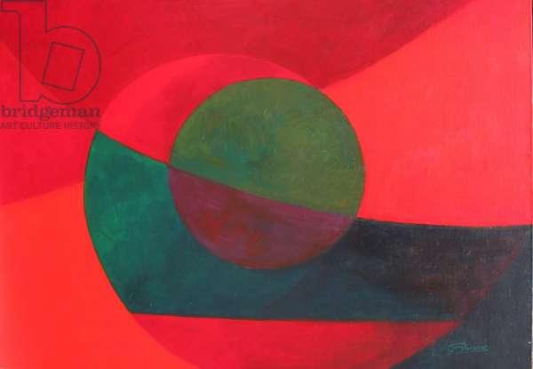 Mouvement, 1946 (oil on canvas)