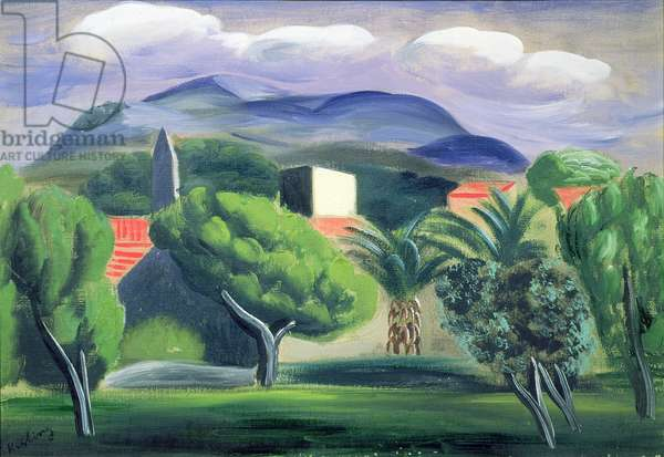 Provence, 1921 (oil on canvas)
