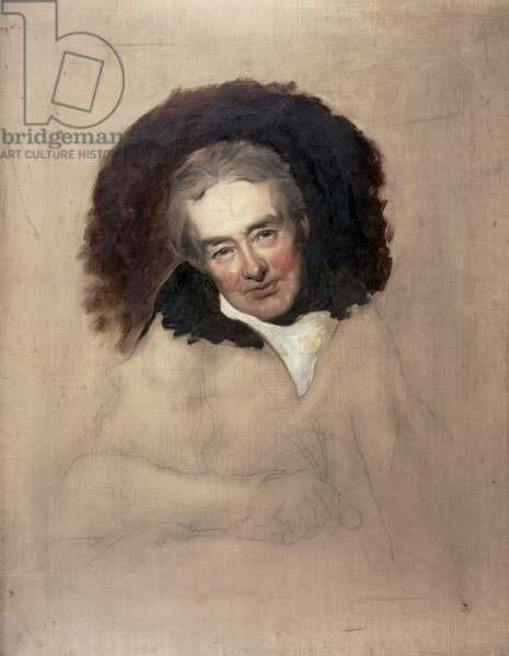 Portrait of William Wilberforce (1759-1833) by George Richmond (1809-96) (oil on canvas) (see 15222)