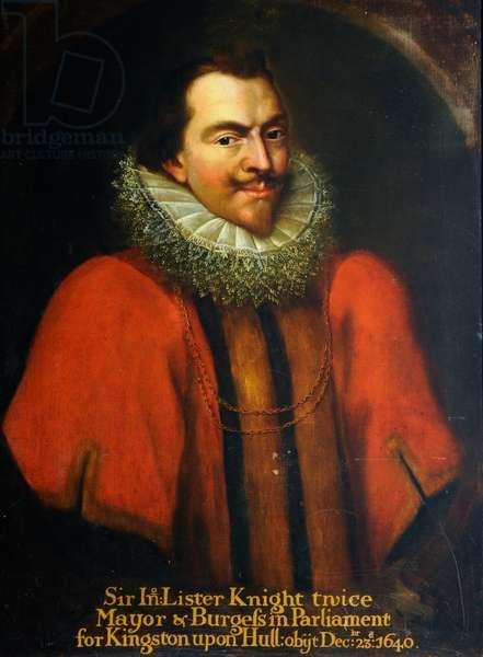 Sir John Lister, 1640 (oil on canvas)
