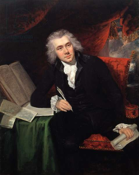 Portrait of William Wilberforce (1759-1833) Aged 29 (oil on canvas)