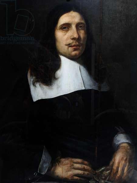 Andrew Marvell, c.1650-70 (oil on wood)