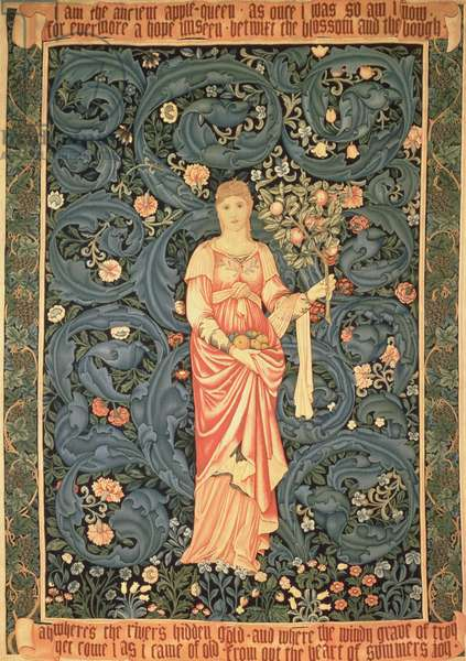 Pomona, 1884-85 (wool and silk tapestry made by Morris & Co.) (see also 90472)