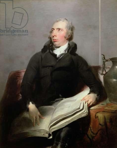 Portrait of Richard Payne Knight (1750-1824), c.1793-94 (oil on canvas)