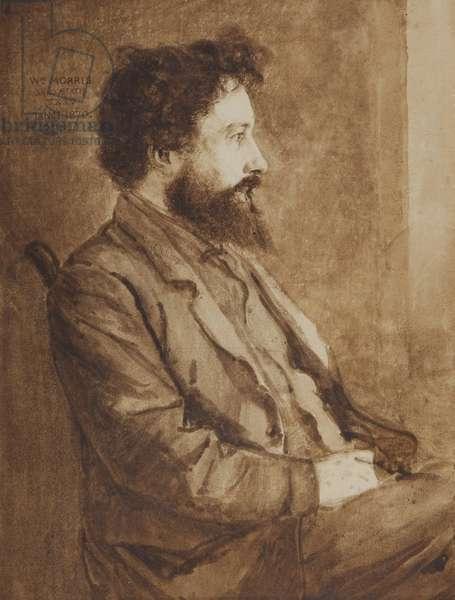 Portrait of William Morris, 1870 (w/c on paper)